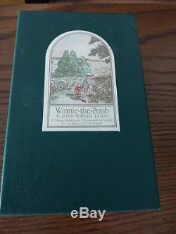 R. John Wright Winnie - L'ourson Pocket Series Owl # 906
