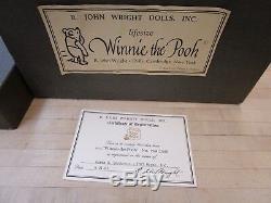 R. John Wright Winnie The Pooh 1987 Taille Vie Avec Boîte