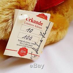 Rare 12 Hermann 2003 Convention Disney Ours Winnie L'ourson 10/100 Jointif