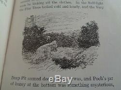 Rare 1926 1ère Édition Winnie L'ourson A A Milne -1er Imprimer Illus E Shepard