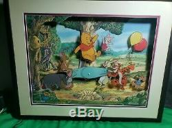 Rare Animations D'animation Hip Hip Poohray Musical Moving Picture Winnie L'ourson