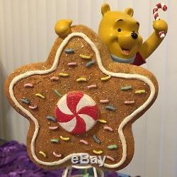 Rare! Coffret Sapin De Noël Star En Porcelaine Disney Winnie The Pooh