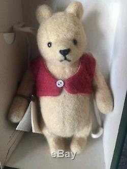Rare R John Winnie L'ourson Pooh Pooh Articulé Et Porcinet Lot 2 Nouvelle Boîte