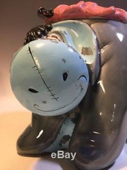 Rare Vintage Eeyore Cookie Jar Disney Winnie L'ourson Californie Originaux # 901