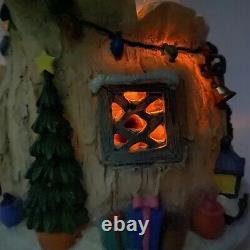 Rare Winnie L'ourson Musical Snow Globe Eeyore Tigger Piglet With Lights