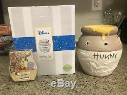 Scentsy Winnie L'ourson Hunny Pot Chaud. Rare! Bars De Collection Disney Plus Cire