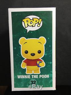Sdcc 2012 Exclusivité Limitée 480 Funko Pop Disney Floqué Winnie L'ourson # 32