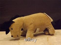 Slesinger Knickerbocker Toy 1963 Winnie The Pooh Eeyore Donkey Farcies