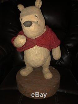 Statue De Figurine Disney Big Fig Winnie L'ourson Figurine Du 75e Anniversaire