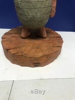 Statue Grande Figurine Disney Winnie L'ourson Rare 75e Anniversaire Porcinet