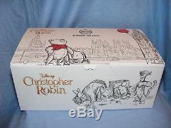 Steiff Disney Christopher Robin Coffret Cadeau Winnie L'ourson 355417 Edition Limitée