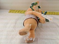 Steiff Disney Classic Winnie The Pooh Piglet Flowers Peluche 662324 2006 550/1500