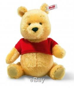 Steiff Disney Miniature Winnie L'ourson Ours Ean 683411 USA Édition Limitée Cadeau