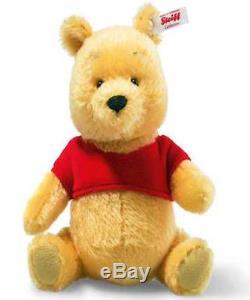 Steiff Édition Limitée Disney Miniature Winnie L'ourson Ours Ean 683411 Box / Cert