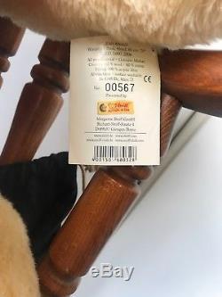 Steiff Winnie L'ourson 80cm. No567 De 1000 Fabriqué En 2006