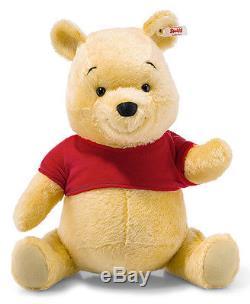 Steiff Winnie L'ourson Teddy Bear Édition Limitée 42cm Ean 683213 Bnib