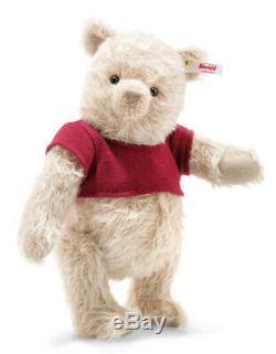 Steiff'winnie Disney Pooh Christopher Robin Édition Limitée 355424 -bnib