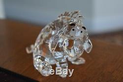Swarovski Crystal Set De 4 Winnie L'ourson Honey Pot Porcelet Eeore Tigrou 905768