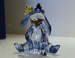 Swarovski Disney Winnie L'ourson I-ah Esel Eeyore Couleur 1142842 Ovp Neuf En Boîte