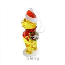 Swarovski Disney Winnie L'ourson Ornement D'arbre De Noël 5030561 Nouveau Dans La Boîte-cadeau