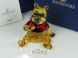 Swarovski Disney Winnie L'ourson Retraité 2012 Mib # 1142889