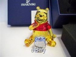 Swarovski Disney Winnie L'ourson (version Couleur) 1142889 Mib