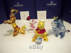Swarovski Disney Winnie The Pooh - Ensemble De 4 Couleurs - Winnie L'orange