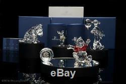Swarovski Figurines Disney Winnie L'ourson Set 6 Pièces