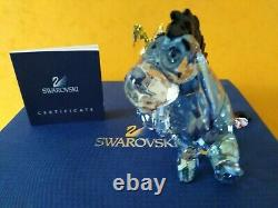 Swarovski Rare Colored Eeyore Winnie The Pooh Disney 1142842 Boxed With Cert