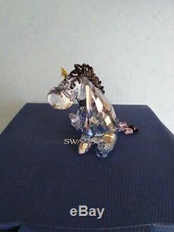 Swarovski Rare Colorés Eeyore Winnie L'ourson Disney Retraite 1142842 Boxed