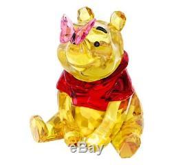 Swarovski Winnie L'ourson Avec La Figure Authentique En Cristal De Papillon Disney 5282928