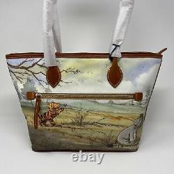 T.n.-o. Genuine Dooney & Bourke Classic Winnie The Pooh Tote Disney Parks Real Bag