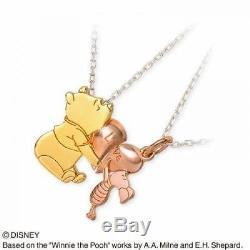 The Kiss Pendentif En Argent Winnie The Pooh & Piglet