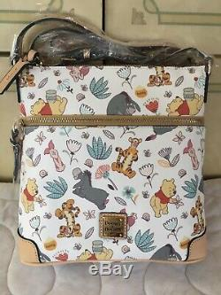 Tn-o Disney Dooney & Bourke Winnie L'ourson Factrice Crossbody Bourse De Sac