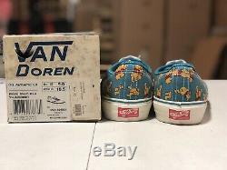 Vans Vault Disney Og Authentique LX Winnie L'ourson Taille 9 Plume Originale Ds Cab Brouillard