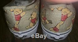 Vans X Winnie L'ourson Chaussures De Tennis / Chaussures De Sport Femmes 10,5 / 9 Nwob Hommes