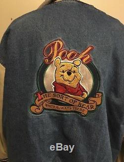 Veste Winnie The Pooh En Jean Taille Petite Avec Capuche Xxxtentacion Disney