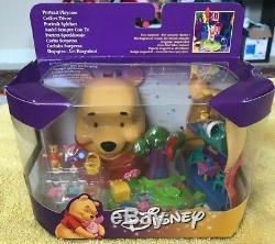 Vintage Disney Winnie L'ourson Polly Pocket Play Case Nib 1999 Scellé Rare