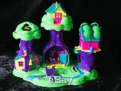 Vintage Polly Pocket Winnie L'ourson 100% Complete 100 Acre Wood House Playset