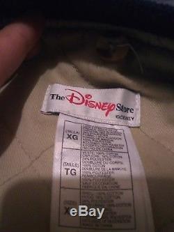 Vintage Veste Winnie L'ourson Jean Varsity Disney Store Taille XL Hip Hop