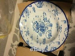 Vintage Walt Disney Winnie L'ourson 16pc Set Vaisselle Toile Nos Super Rare