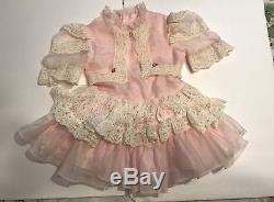 Vintage Winnie L'ourson Filles Robe