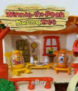 Vintage Winnie L'ourson Weebles Hunny Arbre Complet + Box + Beaucoup De Extras