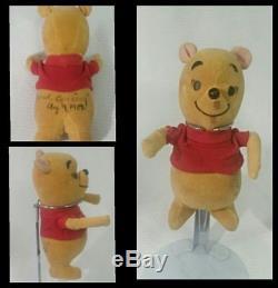 Vintage Winnie The Pooh Sears Grande Ouverture En Peluche Petit Ours Jaune