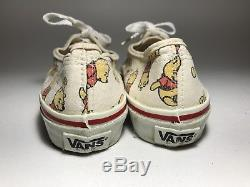 Vtg Disney X Winnie L'ourson X Vans Authentique Us 7 Wmns Fabriqué Aux États-unis