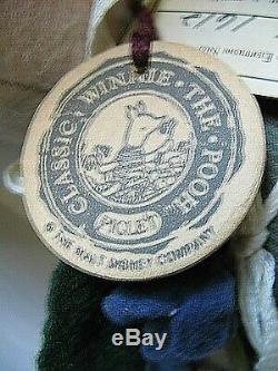 Vtg R. John Wright Winnie L'ourson Porcelet Mignon Des Animaux + Box Ltd Edition 1612/2500