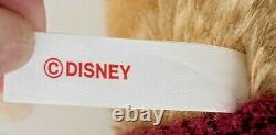 Vtg Steiff Walt Disney Winnie L'ourson Signe Mohair Nouveau Withtags 1994 Rare
