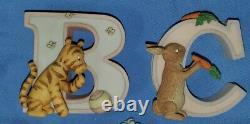 Walt Disney Michel Classic Winnie The Pooh Alphabet Toutes 26 Lettres Lire Ci-dessous