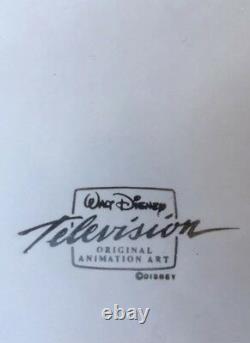 Walt Disney Television Winnie L'ourson Production Originale Cel & Drawing Art