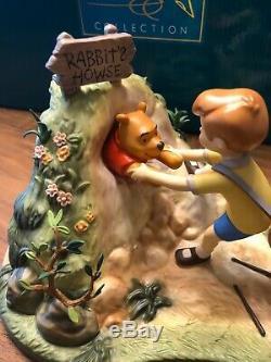 Wdcc Walt Disney Classics Winnie L'ourson Et Le Miel Arbre Dans Mib Coa Stuck